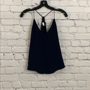 J. Crew will navy camisole tank top